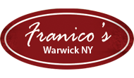 Franico's Warwick NY Menu